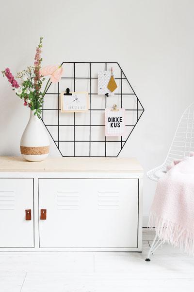 Moederdag Showrek hexagon
