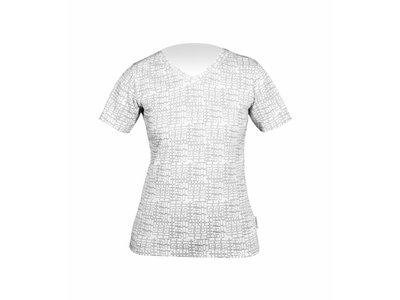 Stromer T-shirt Allover White Woman