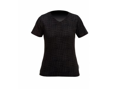 Stromer T-shirt Allover Black Woman