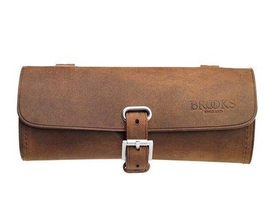 Brooks Zadeltasje Challenge Oud Bruin