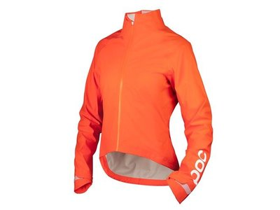 POC AVIP Women Rain Jacket Zink Orange