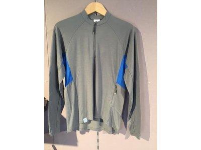 Triple2 Reest shirt men Steel grey