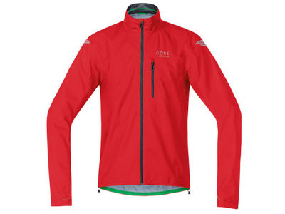 Gore Bike Wear E Regenjas Rood Heren