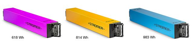 Stromer ST1x en ST2 accu