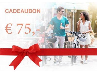 QicQ Cadeaubon € 75