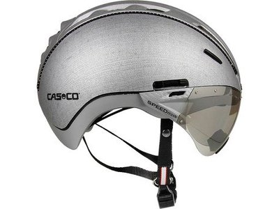 Casco Roadster Silver Denim met Vizier