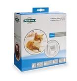 Petsafe Staywell Magnetisch Deluxe kattenluik 400 wit