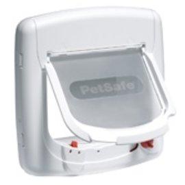 Petsafe Magnetisch Deluxe kattenluik wit 400