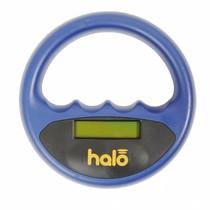 Halo microchip scanner blauw