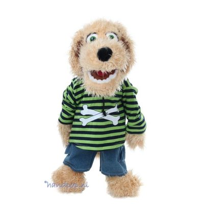 Living Puppets handpop hond Bosse 65 cm