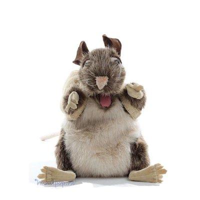 Folkmanis handpop rat bruin
