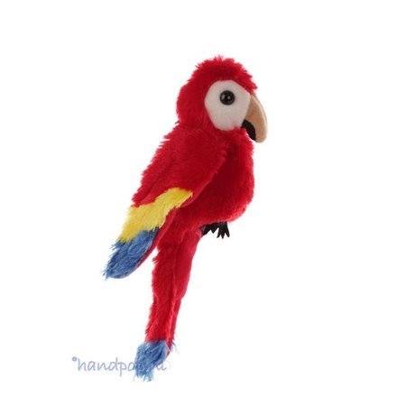 Folkmanis vingerpopje papegaai