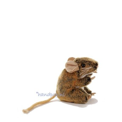 Folkmanis muis bruin vingerpopje
