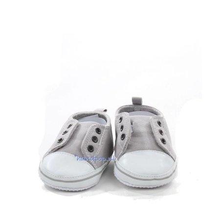 Living Puppets Grijze schoenen voor grote menspop