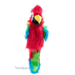 The Puppet Company handpop papegaai amazone ara