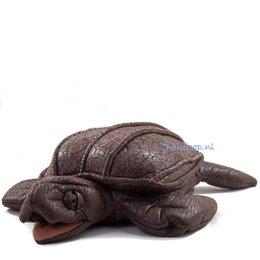 Folkmanis handpop schildpad lederschildpad
