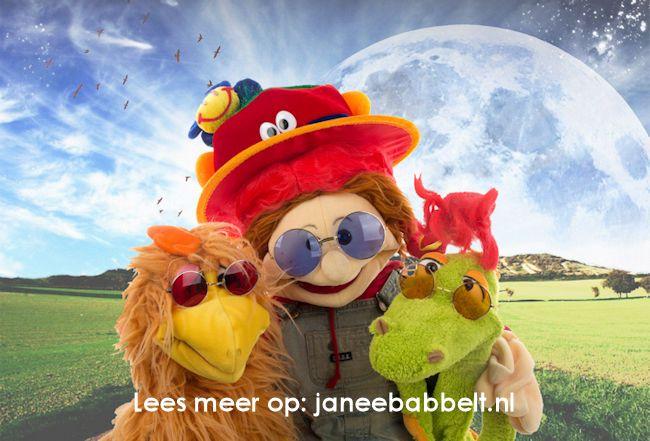 Volg de avonturen van JaNee op janeebabbelt.nl
