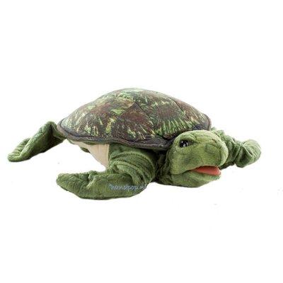 Folkmanis handpop schildpad zeeschildpad