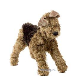 Folkmanis handpop hond airedale terriër