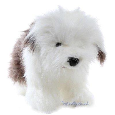 Folkmanis handpop hond bobtail