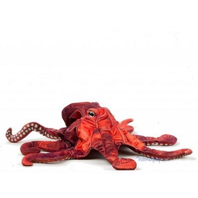 Folkmanis handpop octopus rood