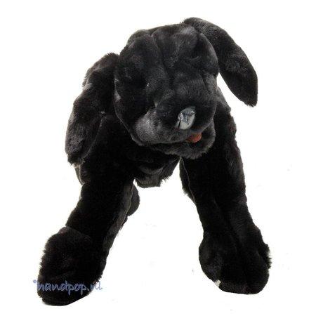 Folkmanis zwarte labrador pup