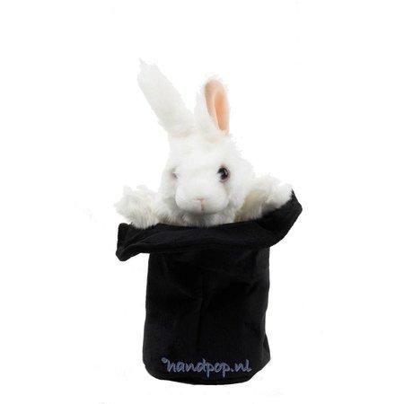 Folkmanis konijn in hoed