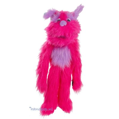 The Puppet Company handpop monster roze