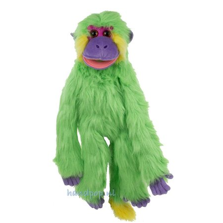 The Puppet Company funky monkey groen