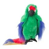 Folkmanis handpop papegaai groene ara