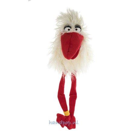 Living Puppets Handpop vogel 'Sorry' brengt een boodschap
