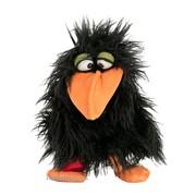 Living Puppets handpop birdmail Thank you zwart