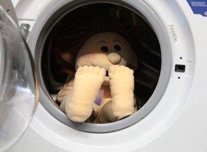 Een Living Puppet wassen