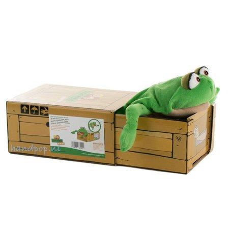Living Puppets Meneer Teichmeister de kikker in the box