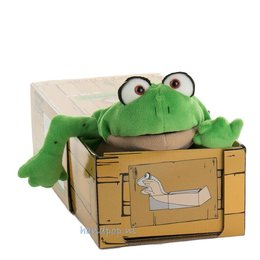 Living Puppets handpop kikker Meneer Teichmeister