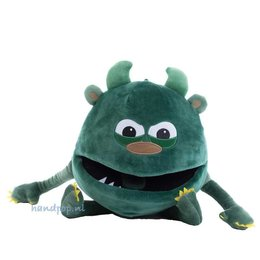 The Puppet Company handpop babymonster groen