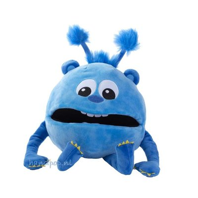 The Puppet Company handpop babymonster blauw