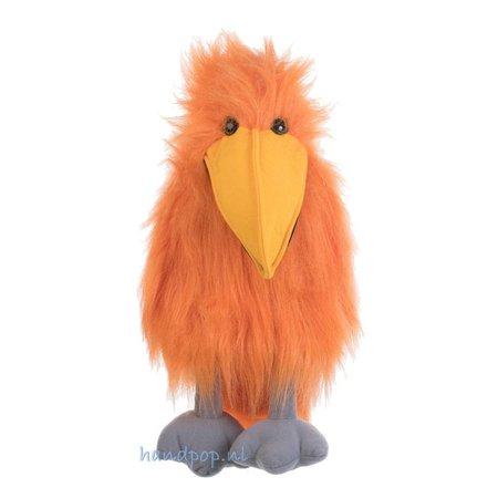 The Puppet Company oranje vogel handpop