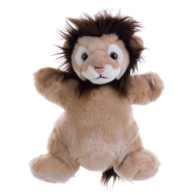 The Puppet Company handpop leeuw cuddly tumms