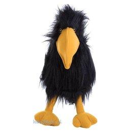 The Puppet Company handpop vogel zwart