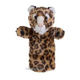 The Puppet Company handpop luipaard (longsleeve)