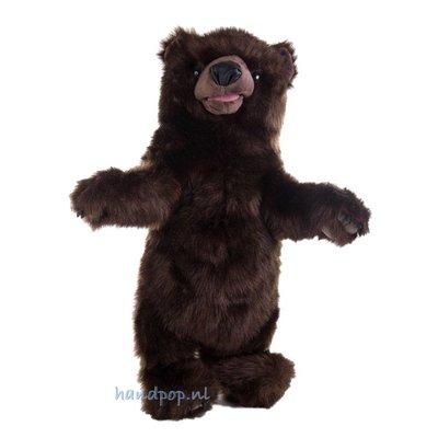 Folkmanis handpop beer staand