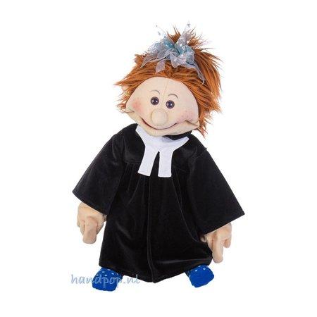 Living Puppets Toga voor een menspop in de rol van rechter, advocaat, trouwambtenaar of dominee