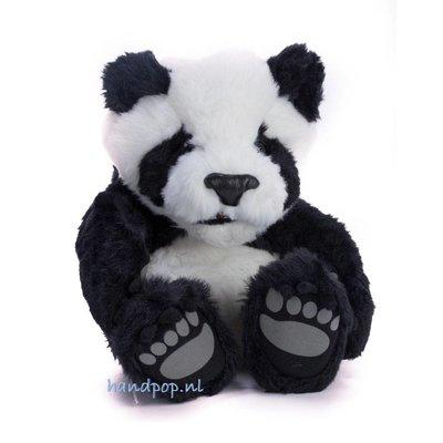 Folkmanis handpop panda zittend