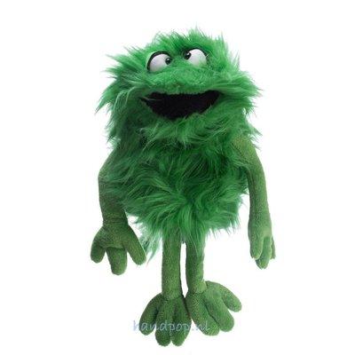 Living Puppets handpop Schlick groen