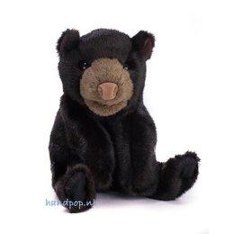 Folkmanis handpop beer zwart