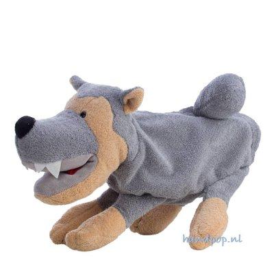 Sterntaler Wolf poppenkastpop 27 cm