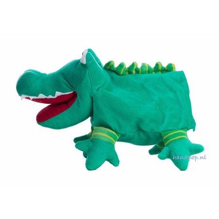 Sterntaler poppenkastpop Krokodil