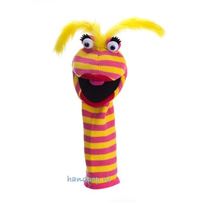 The Puppet Company handpop Sockette Lipstick