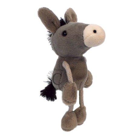 The Puppet Company vingerpopje ezel